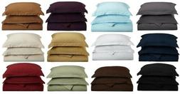 DUVET COVER WITH SHAMS 1500 THREAD COUNT - Available in King