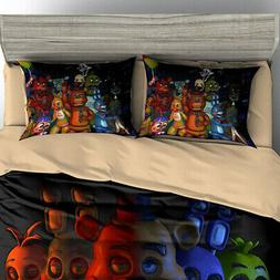 Five Nights At Freddy's Duvet Cover Bedding Set Twin/Queen/K