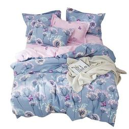 OTOB Flower Girls Twin Bedding Duvet Cover Sets Cotton Kids