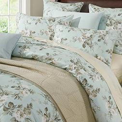 Brandream French Country Garden Toile Floral Printed Duvet Q