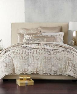 Hotel Collection Fresco KING Duvet Cover Gold