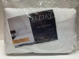 Vaulia Home Collection Full Queen Duvet Cover Set BS305Q~Whi