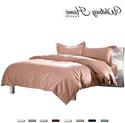 Hotel Quality 100% Natural Cotton Duvet Cover Set King Size