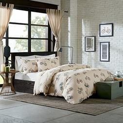 HipStyle HPS12-0011 HipStyle Raleigh 4 Piece Duvet Cover Set