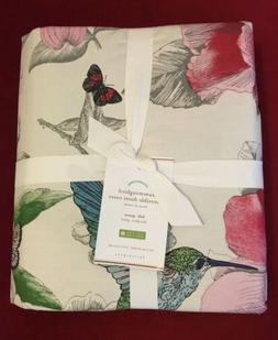Hummingbird Reversible Duvet Cover Full /queen 92x88 Inches