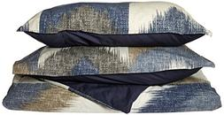 Ink+Ivy Alpine Duvet Cover King/Cal King Size - Navy, Taupe,
