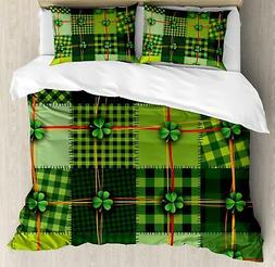 Irish Duvet Cover Set Twin Queen King Sizes with Pillow Sham