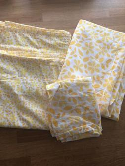 🌼IKEA JUVELBLOMMA Duvet cover and pillowcase Twin New But