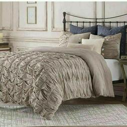 Anthology Kendall Twin Duvet Cover In Oatmeal 100% Cotton 68