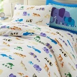 Wildkin Kids 100% Cotton Twin Duvet Cover for Boys and Girls
