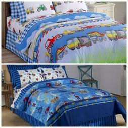 Chezmoi Collection Kids Soft Microfiber Printed Reversible D