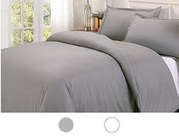 King / California King Duvet Cover Set 400 TC 100% Cotton 3