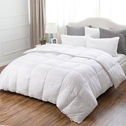 Bedsure Full/Queen Comforter Duvet Insert with Corner Ties-Q