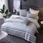 Merryfeel 100% cotton yarn dyed Duvet Cover Set - Twin - Gre