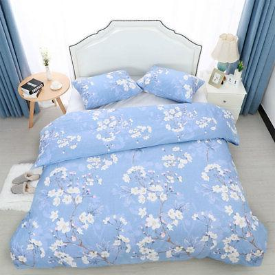 100% Staple Cotton Duvet w Case Bedding Set