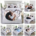 2018 Duvet Cover with Pillow Case Quilt Cover Bedding Set Si