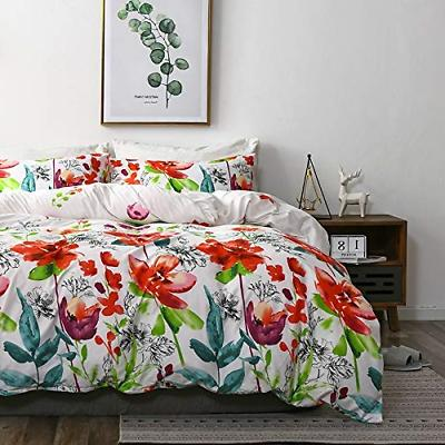Uozzi Bedding 3 Piece Duvet Cover Set King, Reversible Print