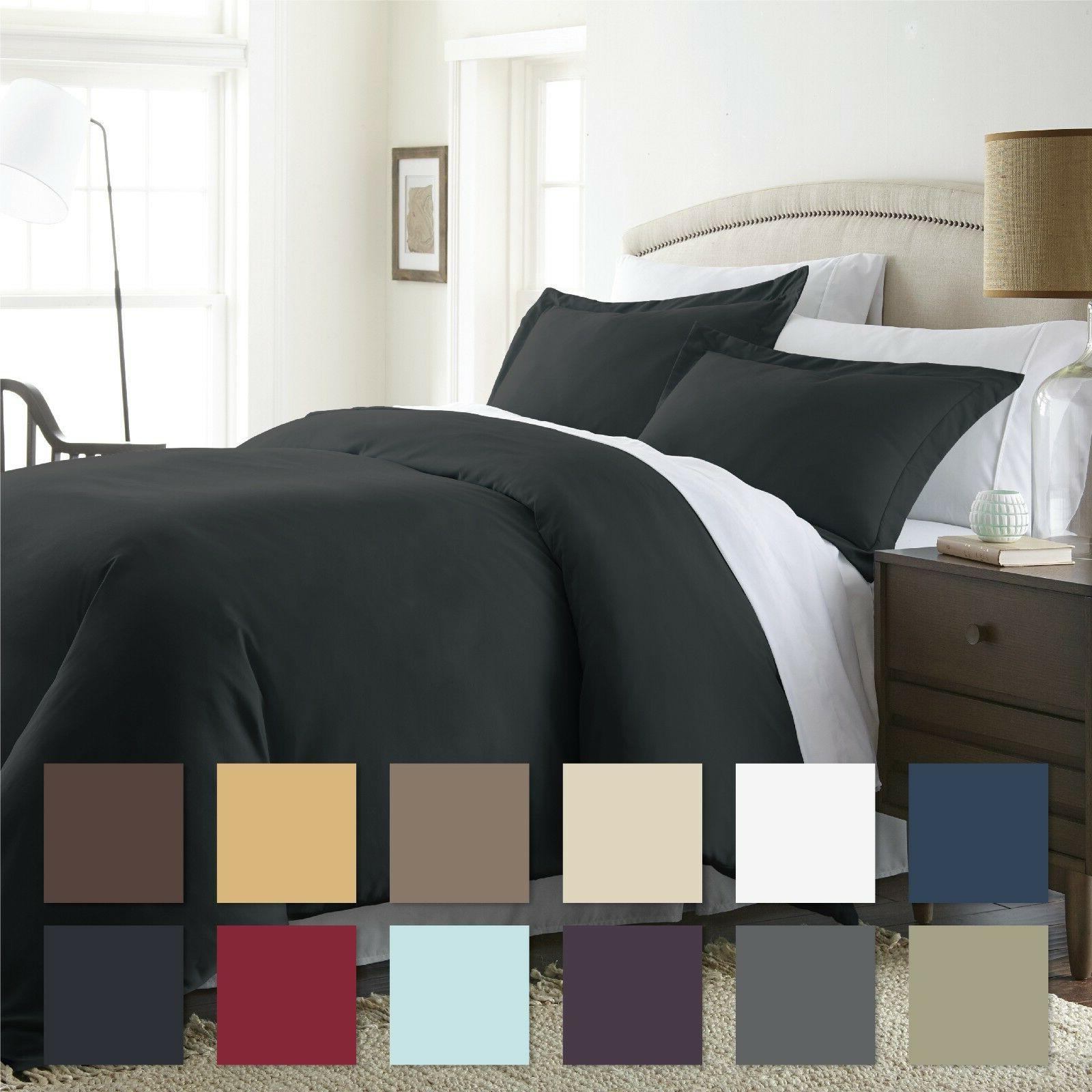 3 piece premium duvet cover set premium