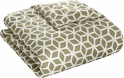 Chic Home Reversible Cover Set Geometric