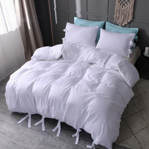 Duvet Cover Strap Cover w Set Twin Size
