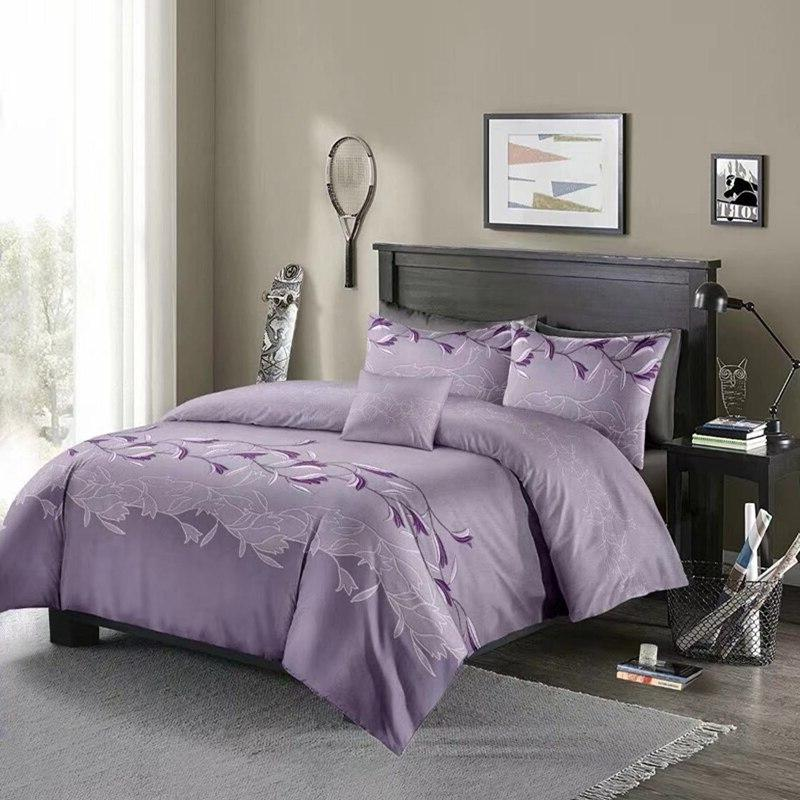 3D Flowers <font><b>Cover</b></font> Sets Comforter Bedding With Pillowcase