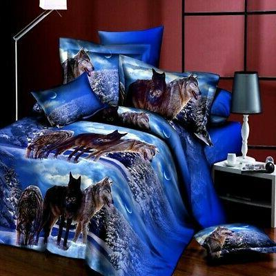 3D Bedding Quilt Bed Pillowcases