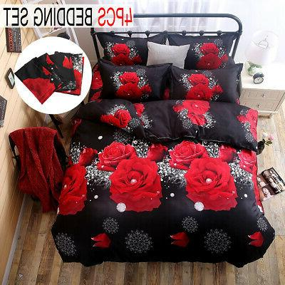 3D Covers Bedding Comforters Quilt Bed Sheet Home