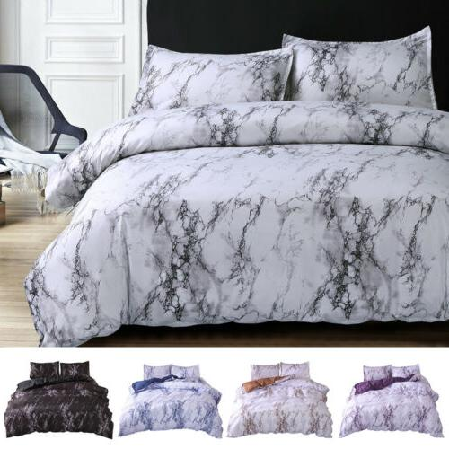 3Pcs Cover Set Comforter Bedding Quilt