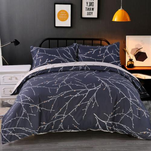 3Pcs Reversible Comforter Cover