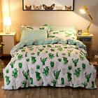 4 Pieces 3D Cactus Duvet Cover Sets Duvet Cover Sets Bedding