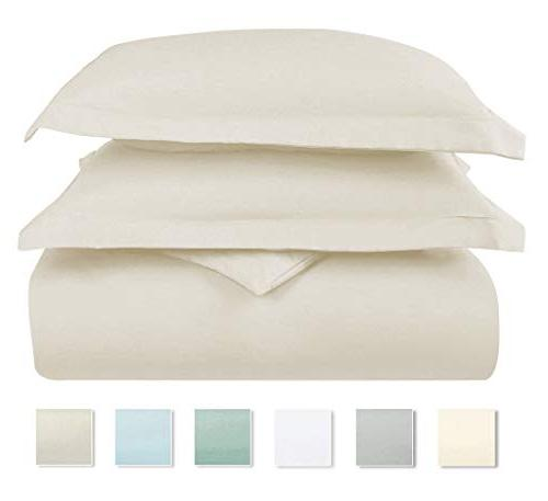 Pizuna Cotton Set, 100% Cotton Beige Set, Luxury Soft Quilt Cover Closure