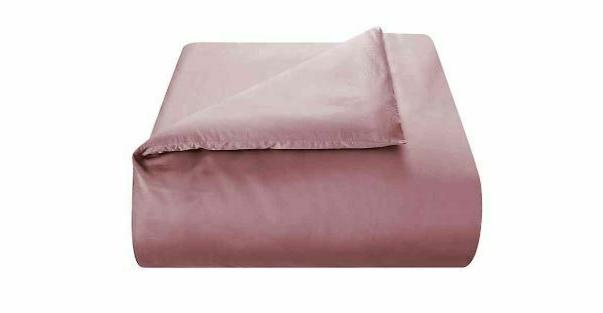 450 thread count cotton sateen king duvet