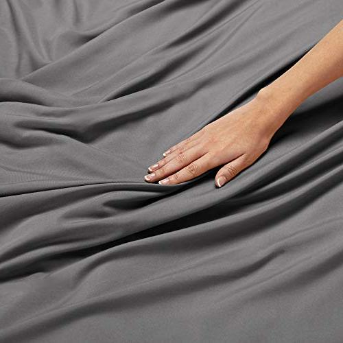 "Nestl 3 Piece Ultra Soft Brushed Microfiber Comforter Closure and 2 Pillow Shams, 90""x90"""