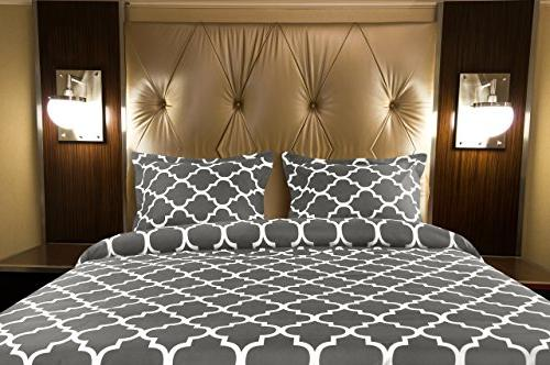 Utopia Bedding Printed Cover Set - Hotel Quality Luxurious Durable Wrinkle, and Machine Washable