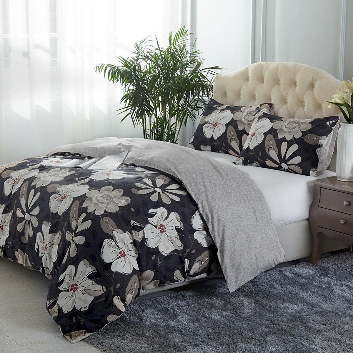 3 Printed Duvet Cover Quilt Cover Queen/King