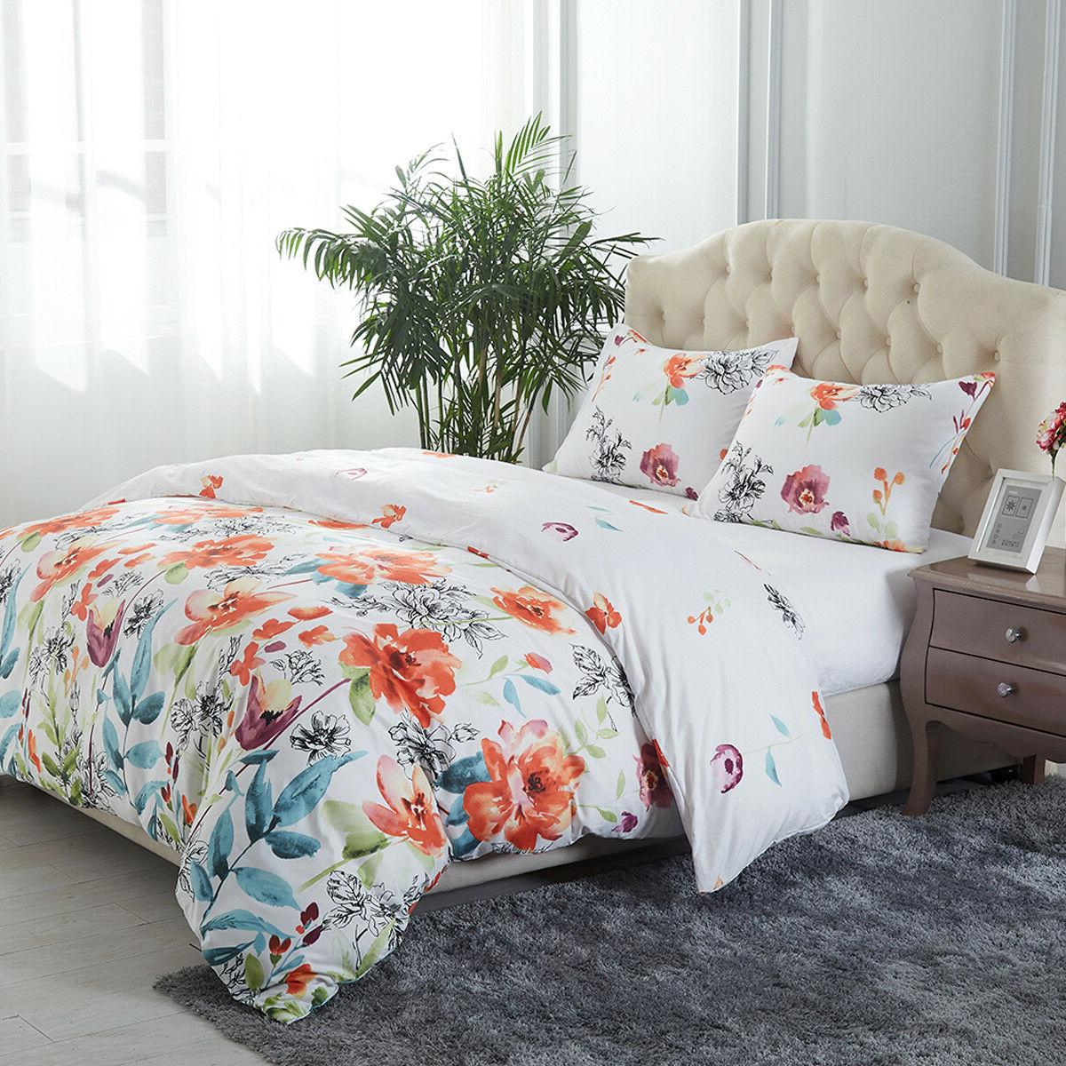 3 Piece Cover Comforter Cover Bedding Set
