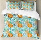 Botanical Duvet Cover Set Twin Queen King Sizes with Pillow