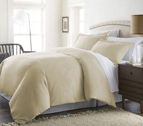 ienjoy Home 3PC Home Collection Luxury Double Brushed Duvet
