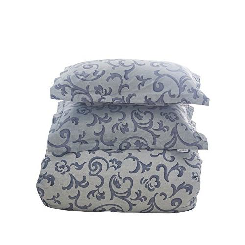 Colourful Well Pattern Duvet Cover Ultra Soft and Easy Care,