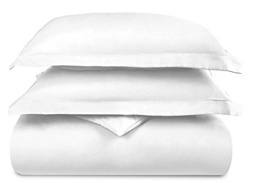 Hotel Luxury Cover Egyptian Ultra Silky Soft Bedding White