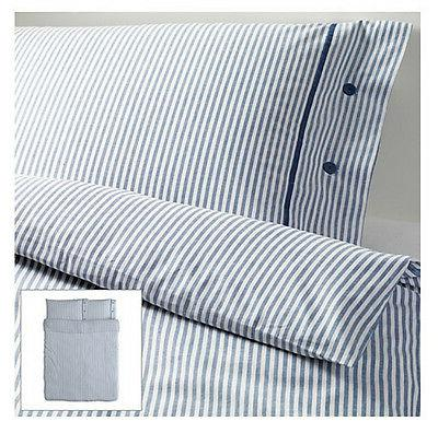 IKEA duvet cover 2 pillowcase FULL/QUEEN/DOUBLE soft woven s