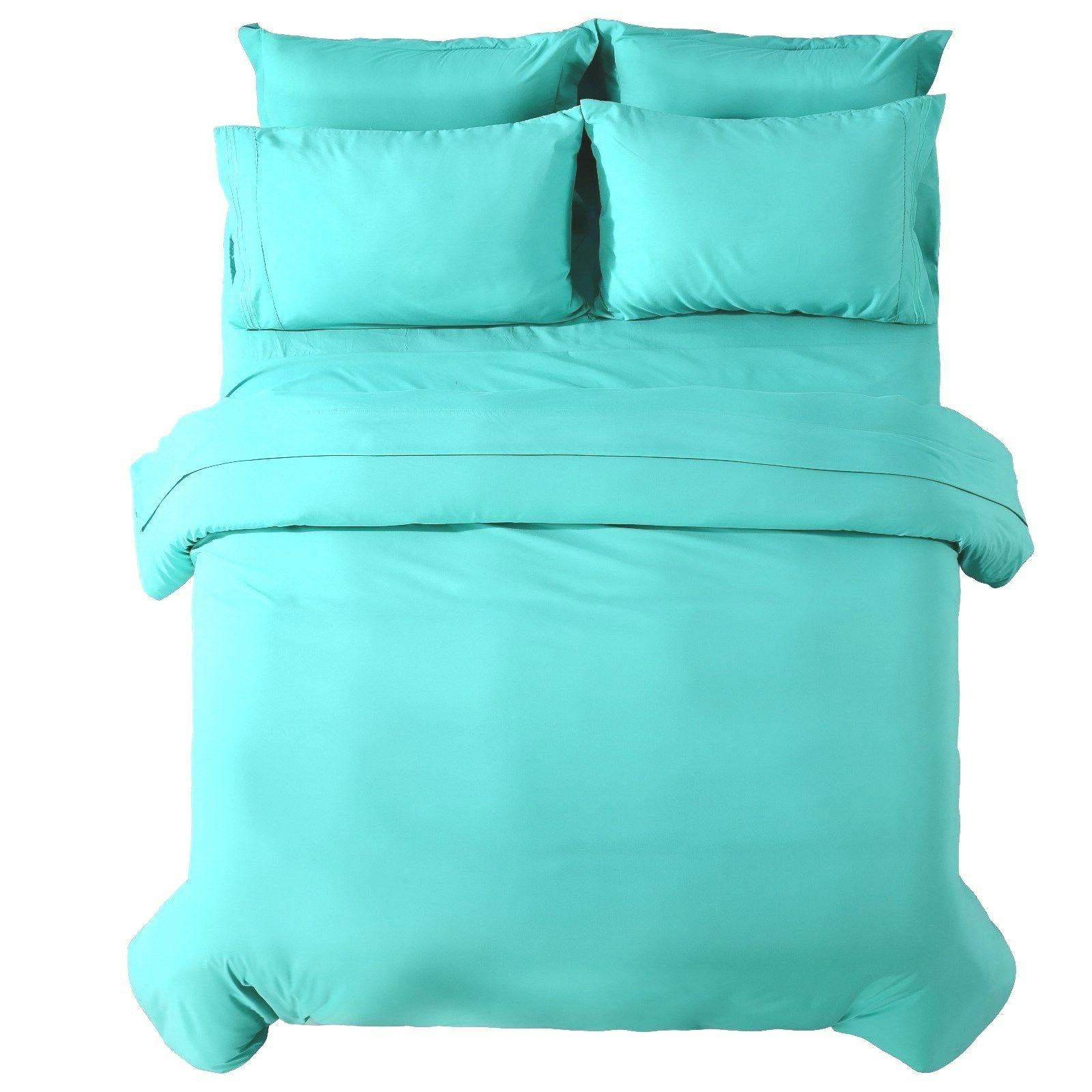 Duvet And Egyptian Comfort 3 Piece Set - Sizes