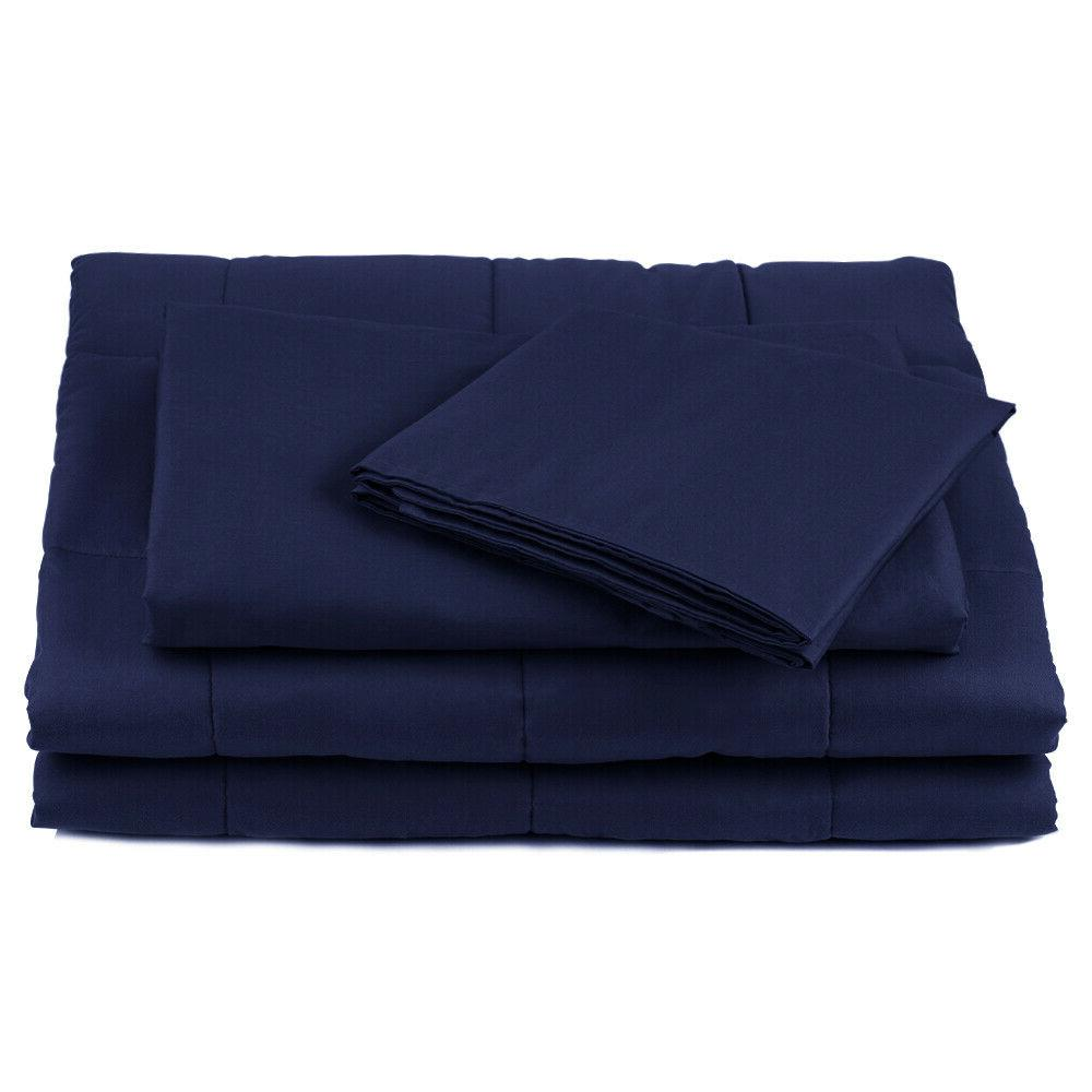 Duvet Cover Weighted Blanket And
