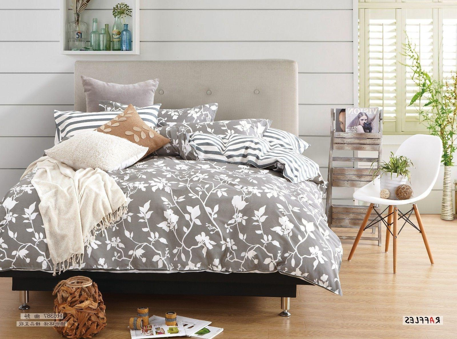 duvet 100% cotton: queen or king, 16