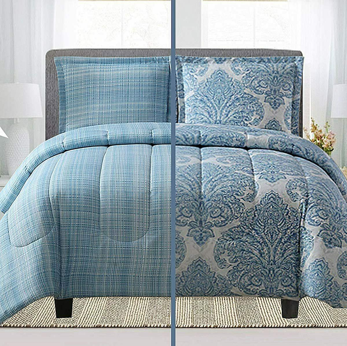 3 Piece Duvet Cover Set Egyptian Comfort 1800 Bedding Microf