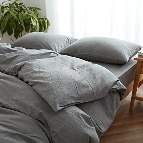 FACE Duvet Cover King,100% and Style Bedding
