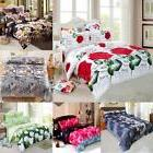 Duvet Quilt Cover Bedding Set Queen King Size With 2Pillow C