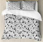 Eastern Yoga Duvet Cover Set Twin Queen King Sizes with Pill