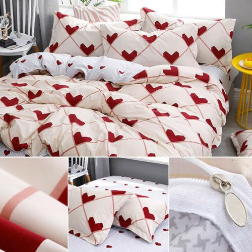 Floral Cover Set Cover Soft Sheets