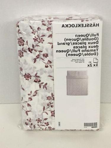 Ikea Cover 2 White/Pink Floral
